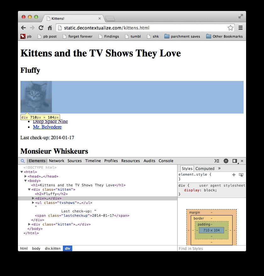 kittens-dev-tools
